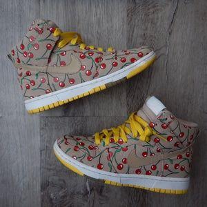 Nike Dunk Hi Skinny Cherry Pack Sneakers Women's